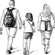 36378400-family-on-a-walk